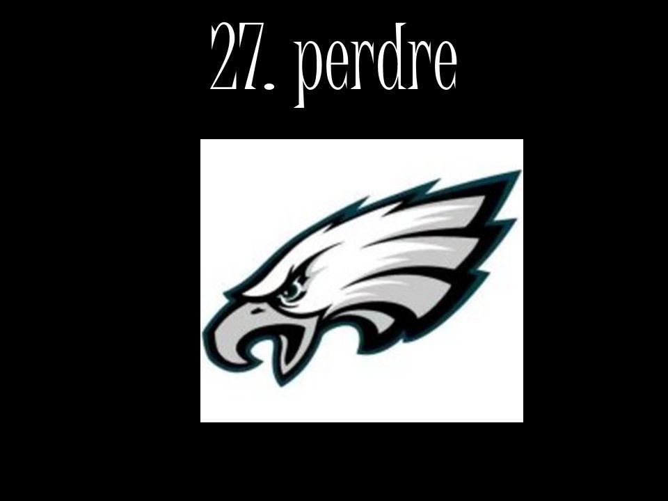27. perdre