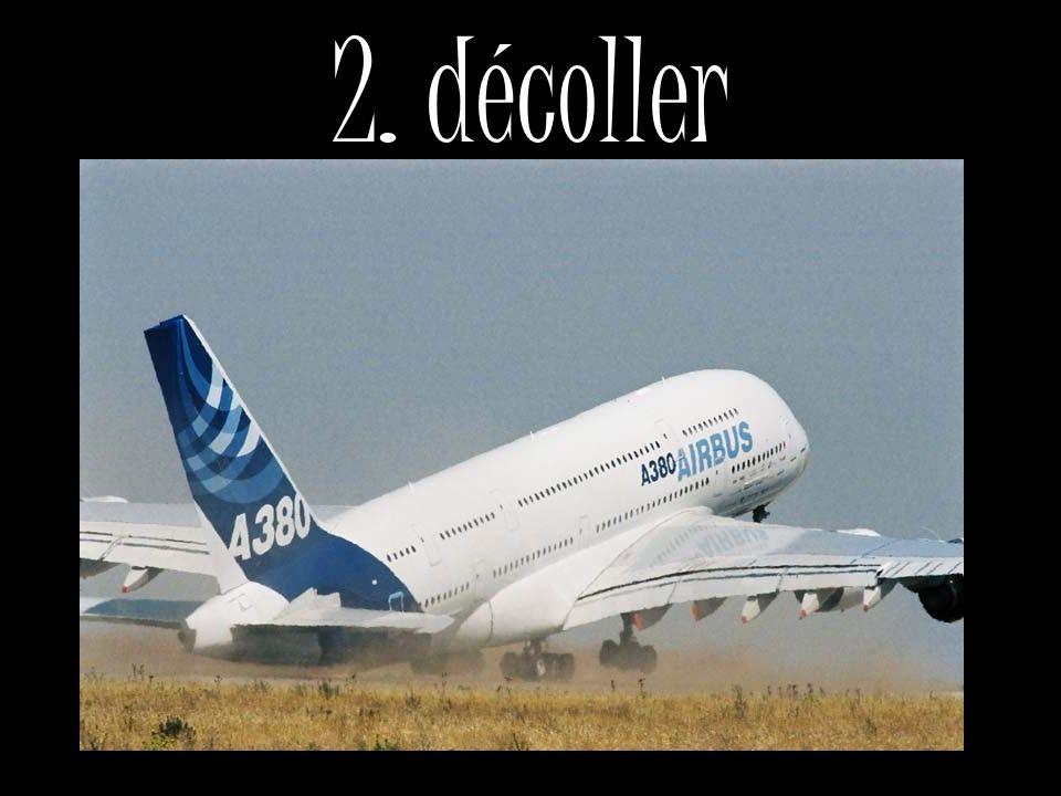 2. décoller