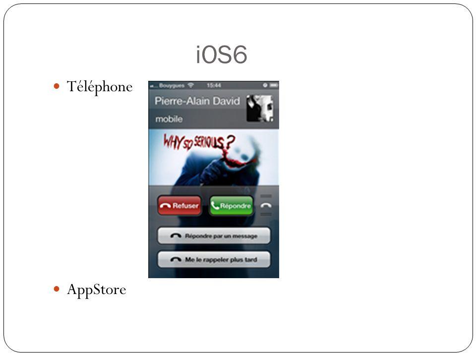 FaceTime en 3G Un nouveau centre de Confidentialité dans les Réglages Safari : Les onglets sont partagés via iCloud Les listes de lecture sont synchronisées Mail : Possibilité de définir des contacts VIP Un mode « Tirer pour rafraîchir »