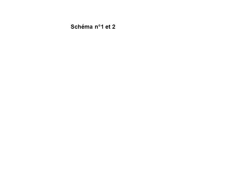 Schéma n°1 et 2