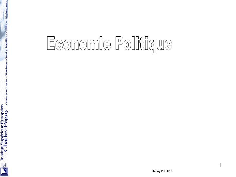 12 Rôle de léconomie politique Léconomiste doit répondre aux questions –Pourquoi il y a-t-il création de richesses.