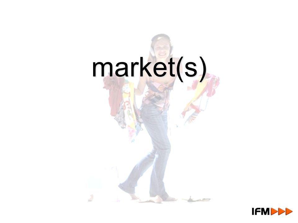 market(s) market(s)