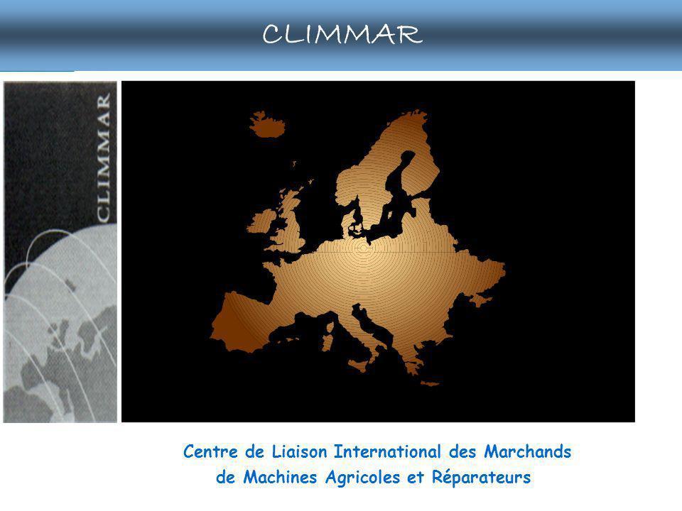 CLIMMAR publications Sedima outils actualités annuaires extranet forum Centre de Liaison International des Marchands de Machines Agricoles et Réparateurs