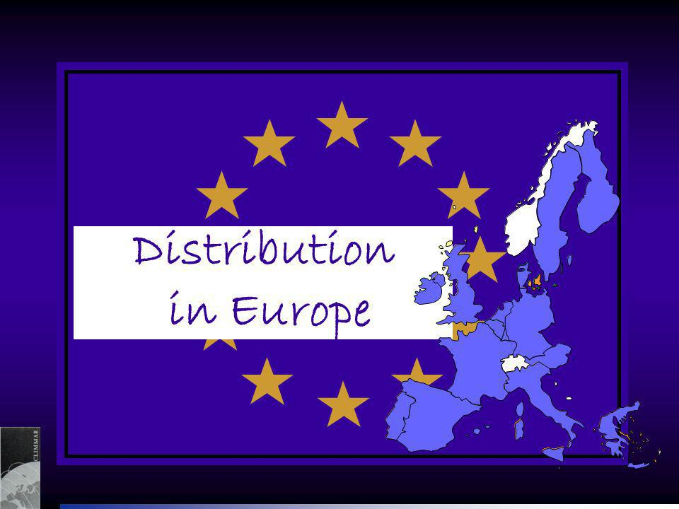 Distribution in Europe