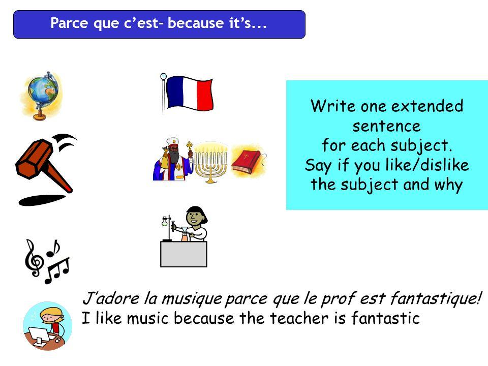 Le français Lhistoire Les maths La géographie Langlais La musique Linformatique Comment trouves-tu le français.