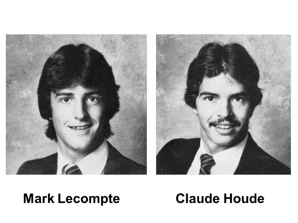 Mark LecompteClaude Houde