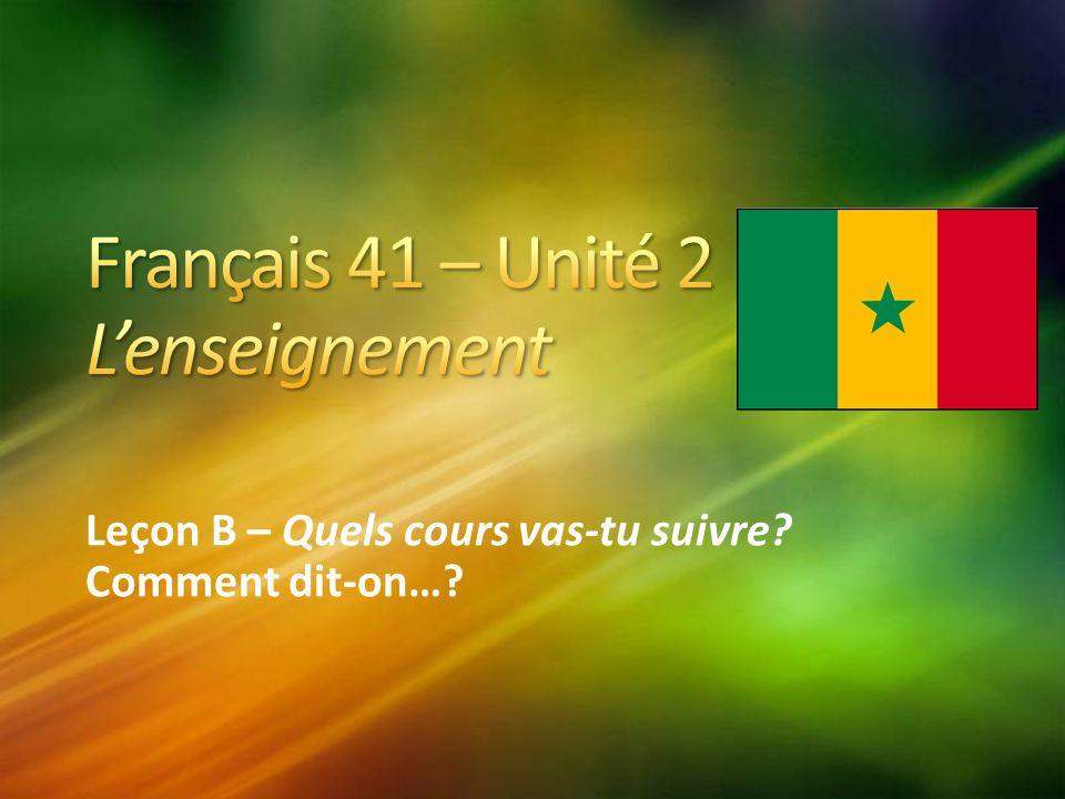 Amadou est enfin arrivé en France et passe son premier jour au lycée Cours St.