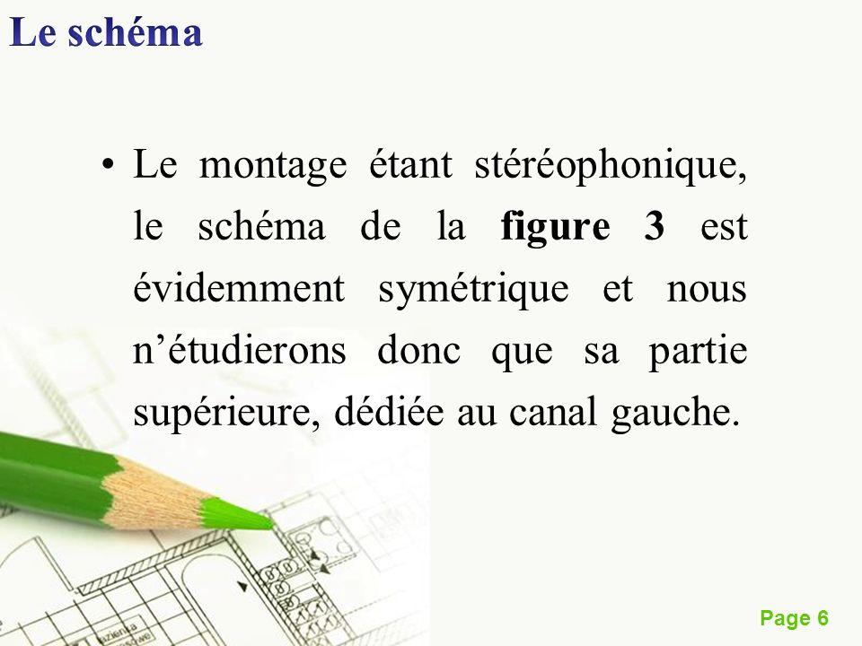 Page 6 Le montage étant stéréophonique, le schéma de la figure 3 est évidemment symétrique et nous nétudierons donc que sa partie supérieure, dédiée a