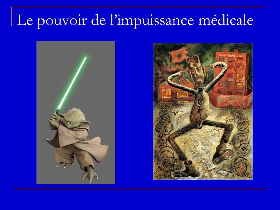 Le pouvoir de limpuissance médicale