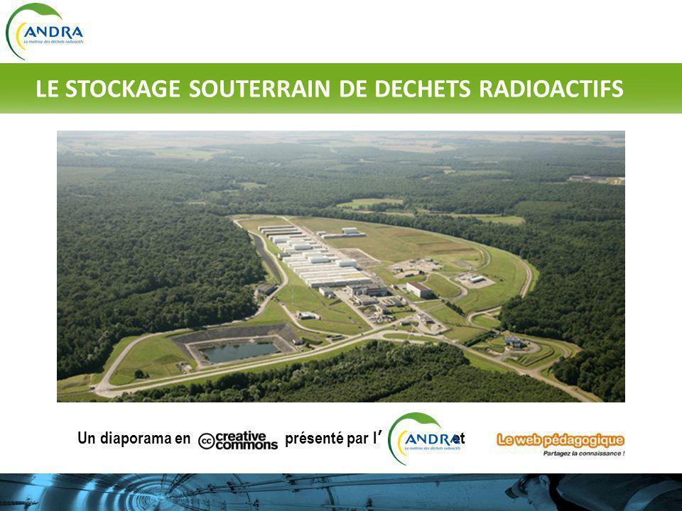 Un diaporama en présenté par l et © http://jl.franchomme.free.fr LE STOCKAGE SOUTERRAIN DE DECHETS RADIOACTIFS