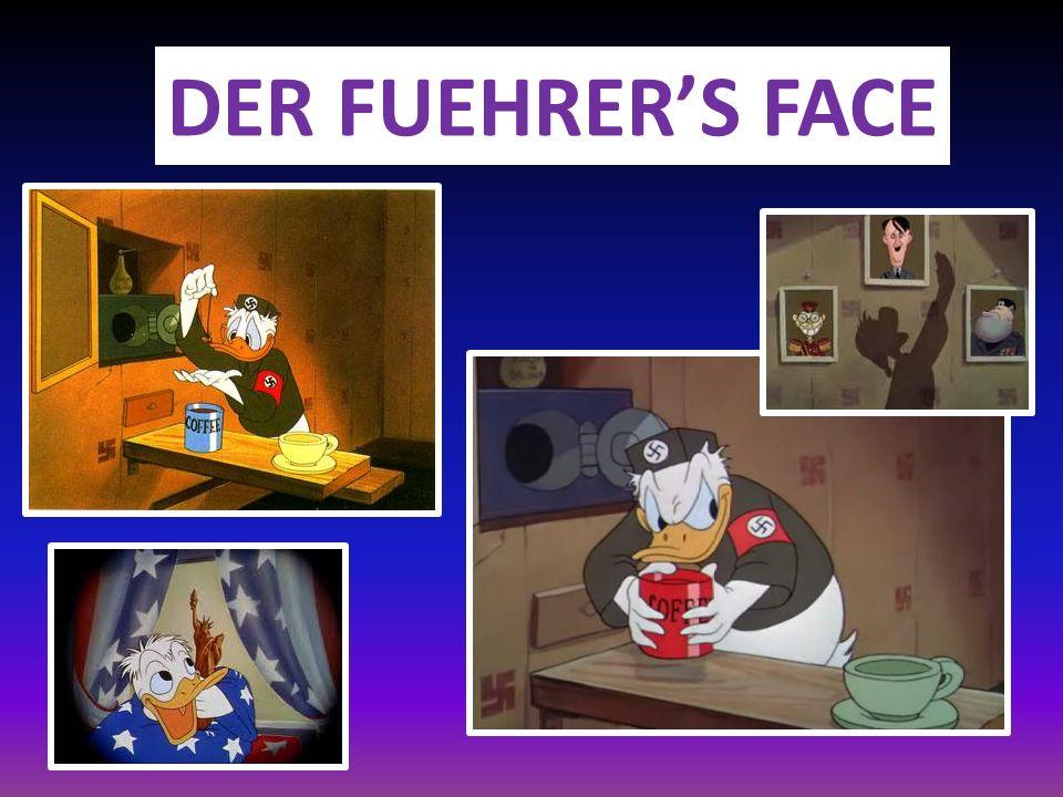 DER FUEHRERS FACE, réalisé par Jack Kinney et produit par Walt Disney Compagny, 1943.