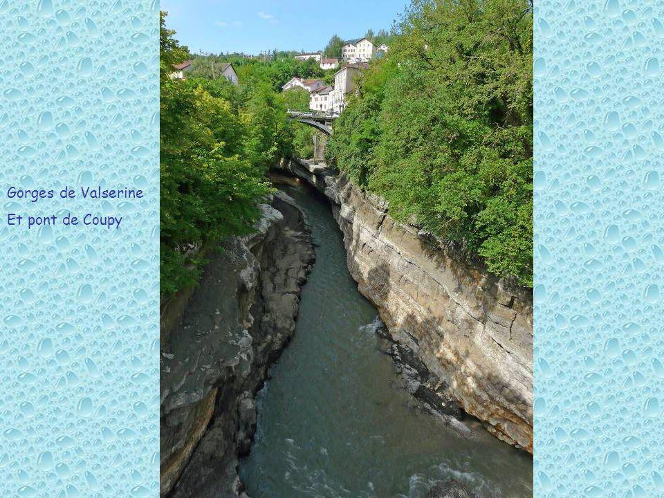 Gorges de Valserine Et pont de Coupy