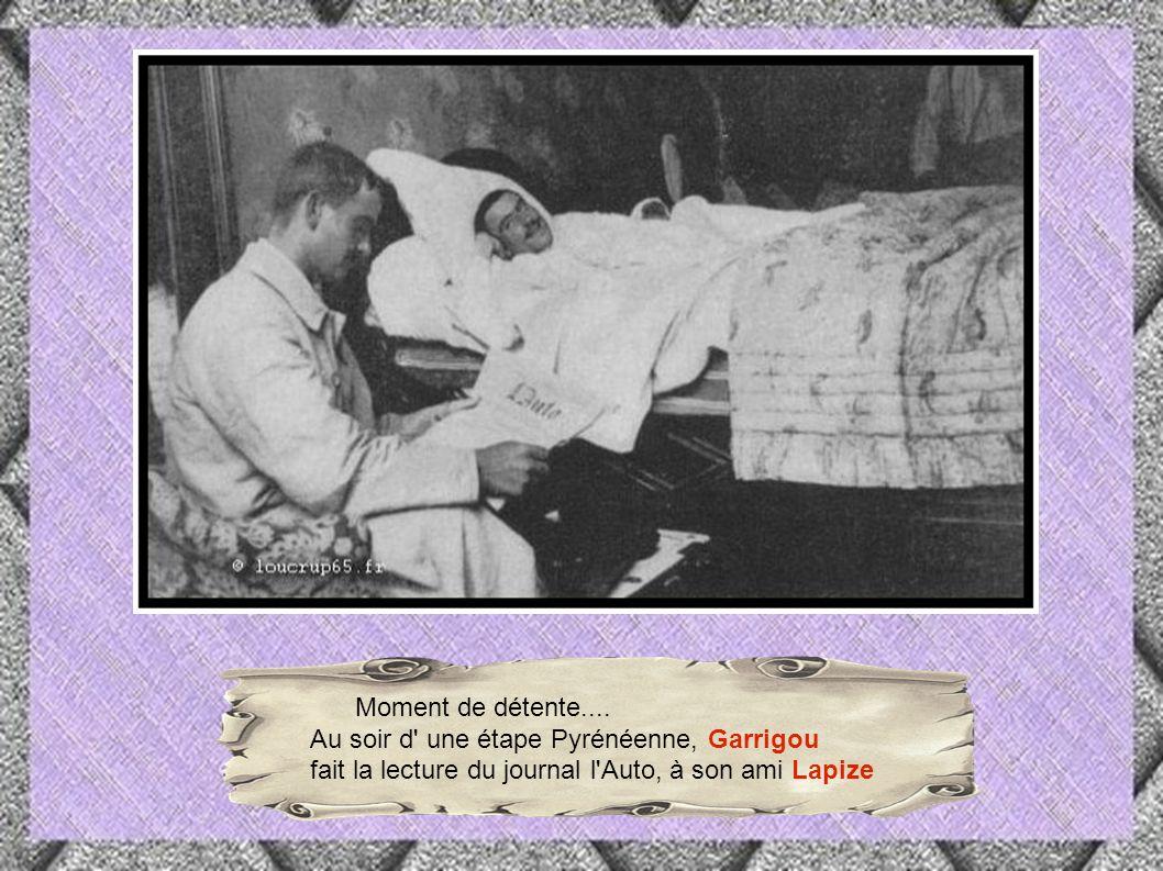 Alors que Lapize et Garrigou semblent aller vers une victoire confortable dans l Aubisque, ils se font brûler la politesse par un inconnu, sans équipe, François Lafourcade, originaire des Pyrénées-Atlantiques,qui franchira l Aubisque en tête.