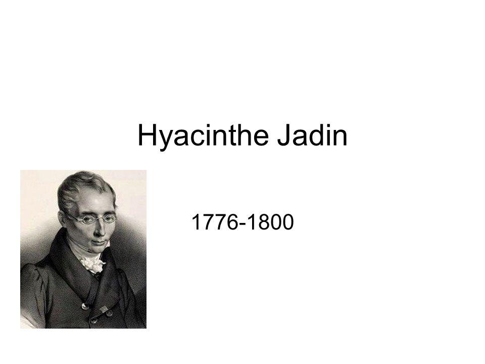 Hyacinthe Jadin 1776-1800