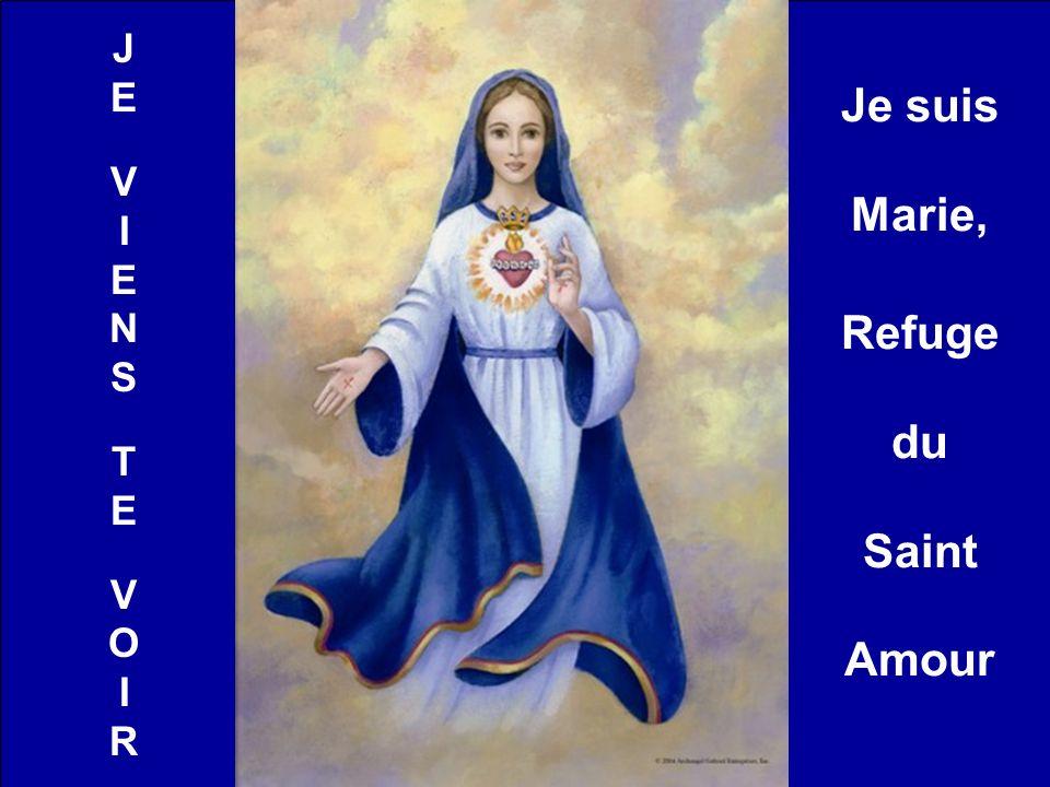 JEVIENSTEVOIRJEVIENSTEVOIR Je suis Marie, Refuge du Saint Amour