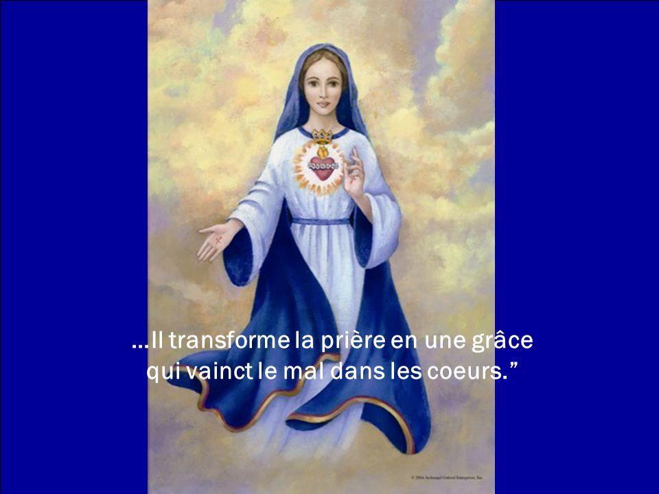 ...Dieu reçoit le sacrifice de la prière et lutilise comme une épée contre le mal....