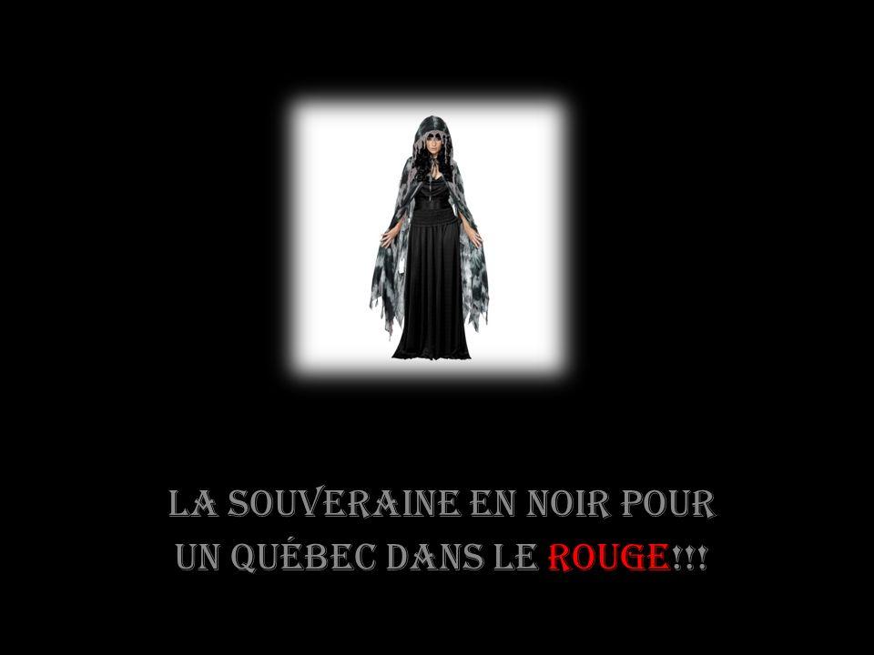 À vos gardes la souveraine mène!!!