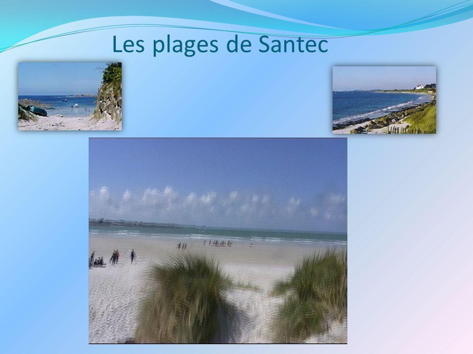 Les plages de Santec