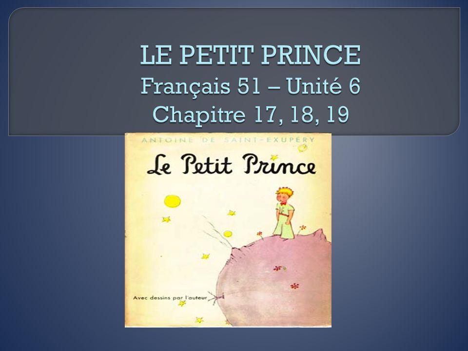 Pourquoi le petit prince est-il surpris quand il arrive sur la terre.