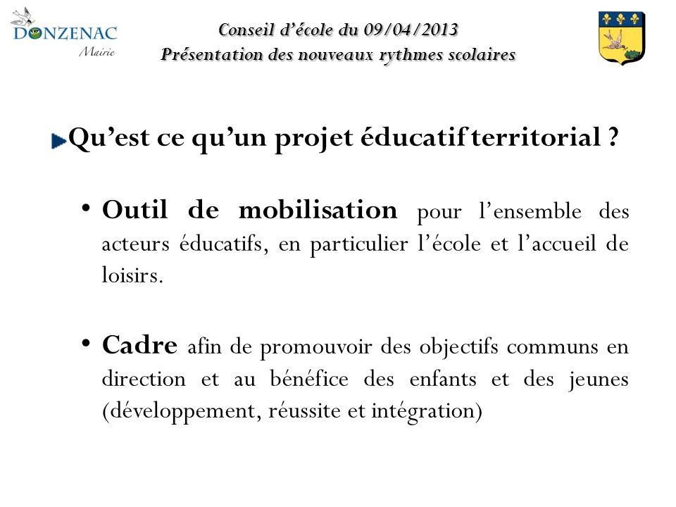 Quest ce quun projet éducatif territorial .