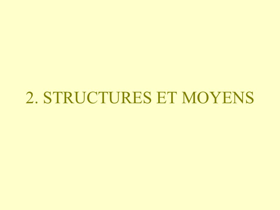 2.1. STRUCTURES