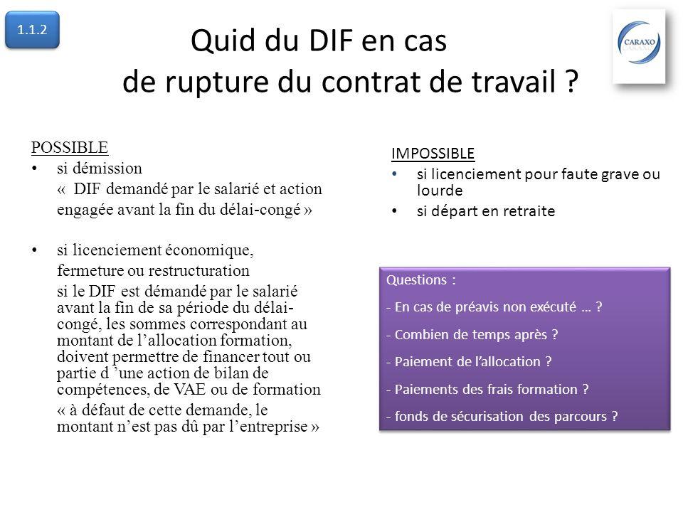 Comprendre la formation Accès Initiative de lemployeur Le plan de formation 1.1.1 Initiative du salarié avec accord de lemployeur Le Droit Individuel à la Formation 1.1.2 Initiative du salarié Le Congé Individuel de Formation 1.1.3 1.1