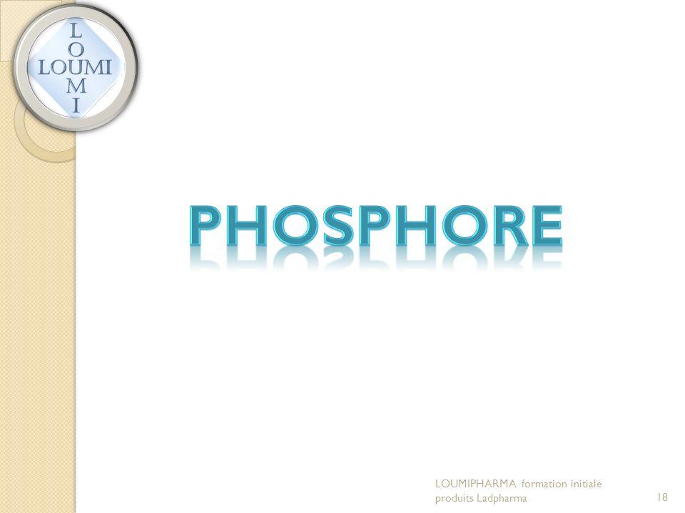 LOUMIPHARMA formation initiale produits Ladpharma18