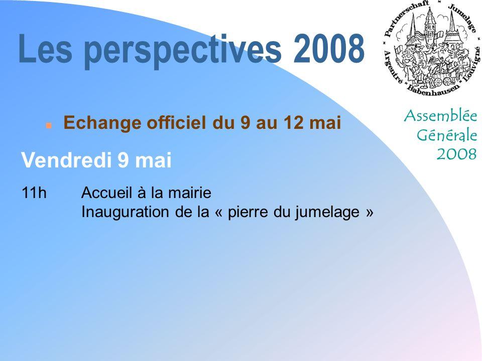 Assemblée Générale 2008 Ce quil reste...