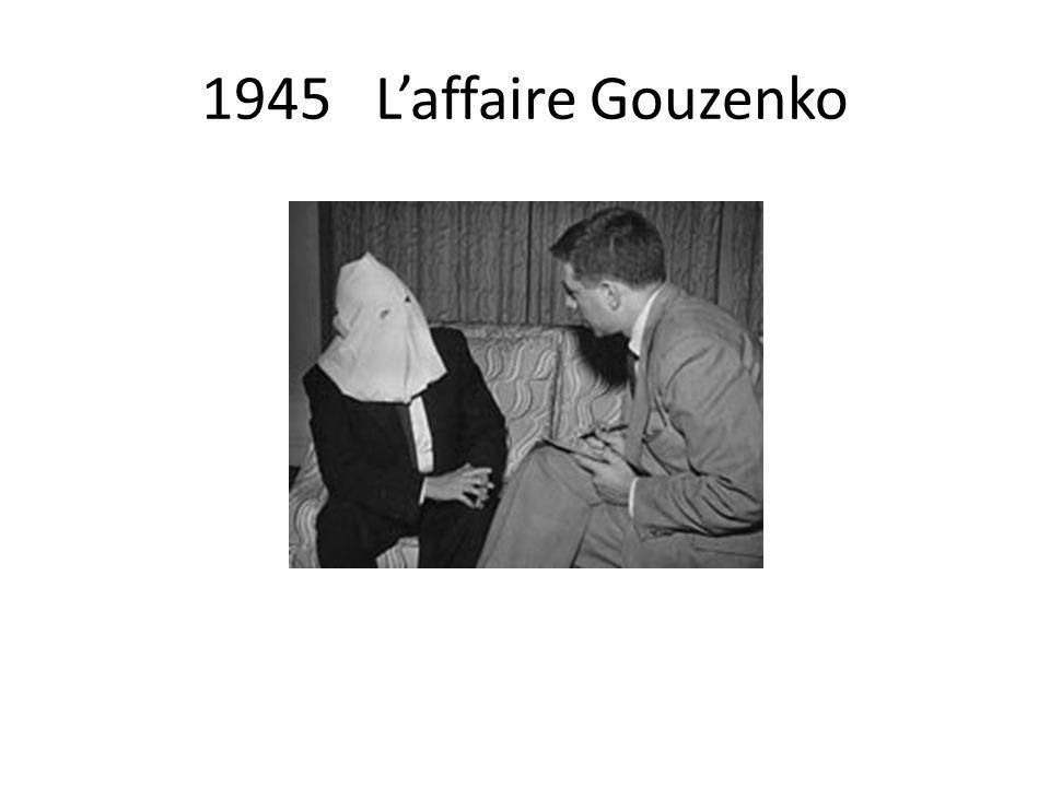 1945 Laffaire Gouzenko