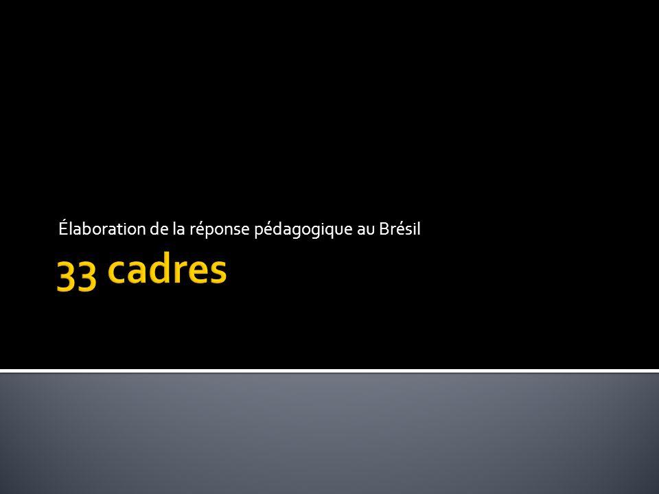 Élaboration de la réponse pédagogique au Brésil