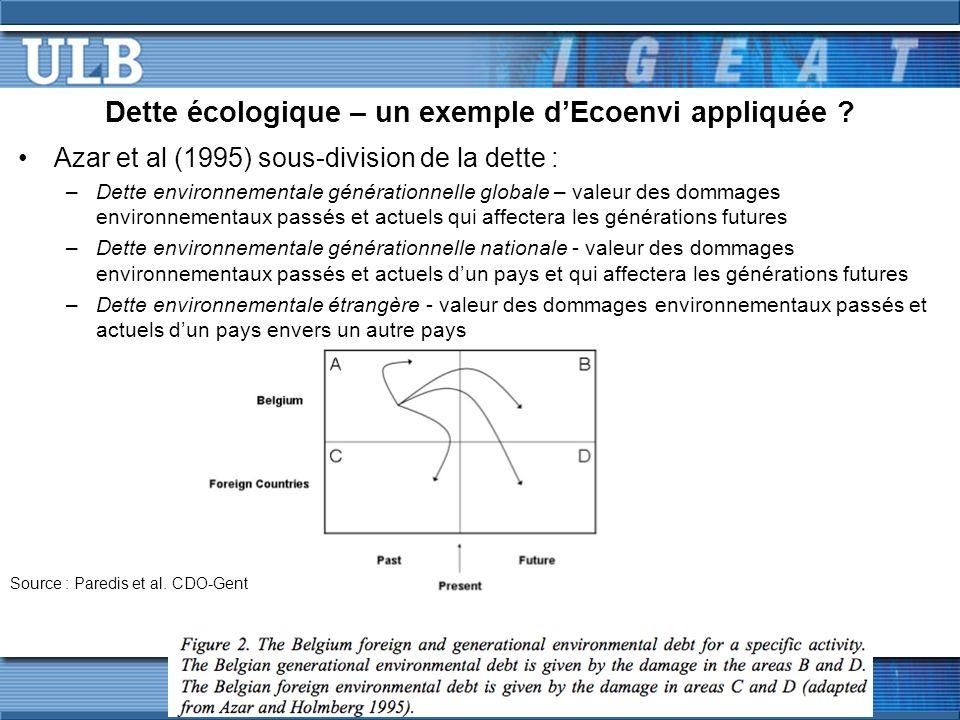Effectivité et efficience des PSE (4/7) Autres enjeux defficience / effectivité : –« Leakage », i.e.