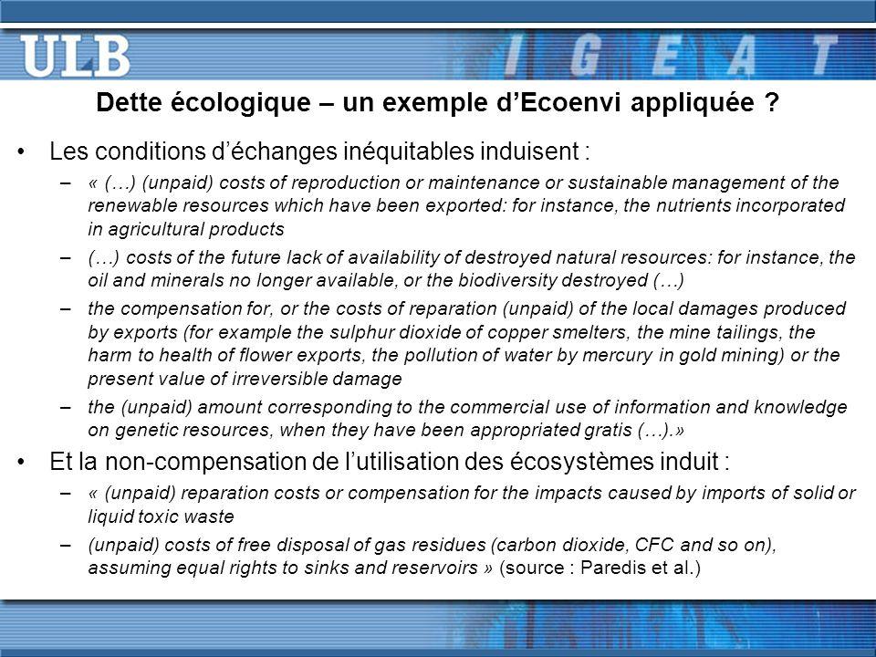 Effectivité et efficience des PSE (7/7)