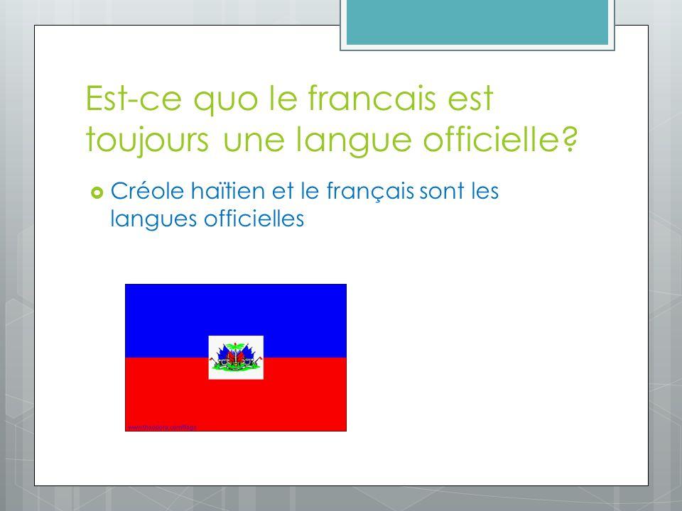 Haitii est devenu independant? January 1, 1804