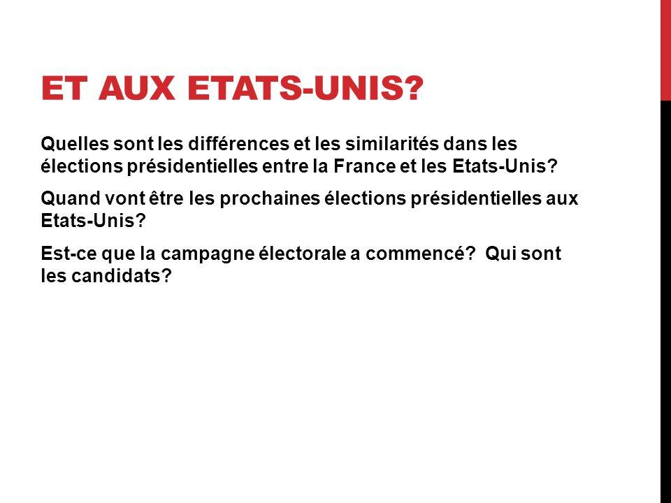 ET AUX ETATS-UNIS.