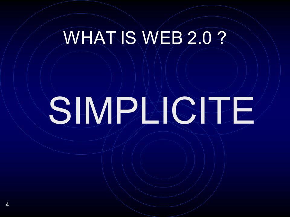 5 WEB 2.0 EFFICACITE SIMPLE