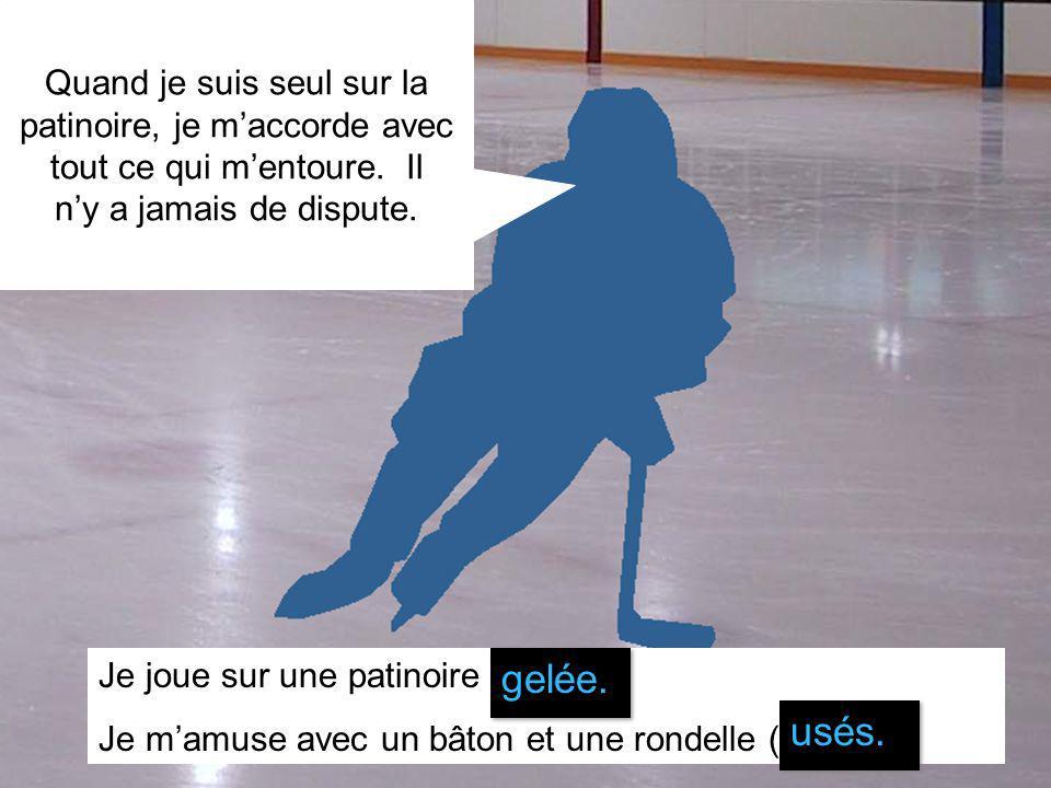 Marie-Eve Therrien 2007 Quand je suis seul sur la patinoire, je maccorde avec tout ce qui mentoure.
