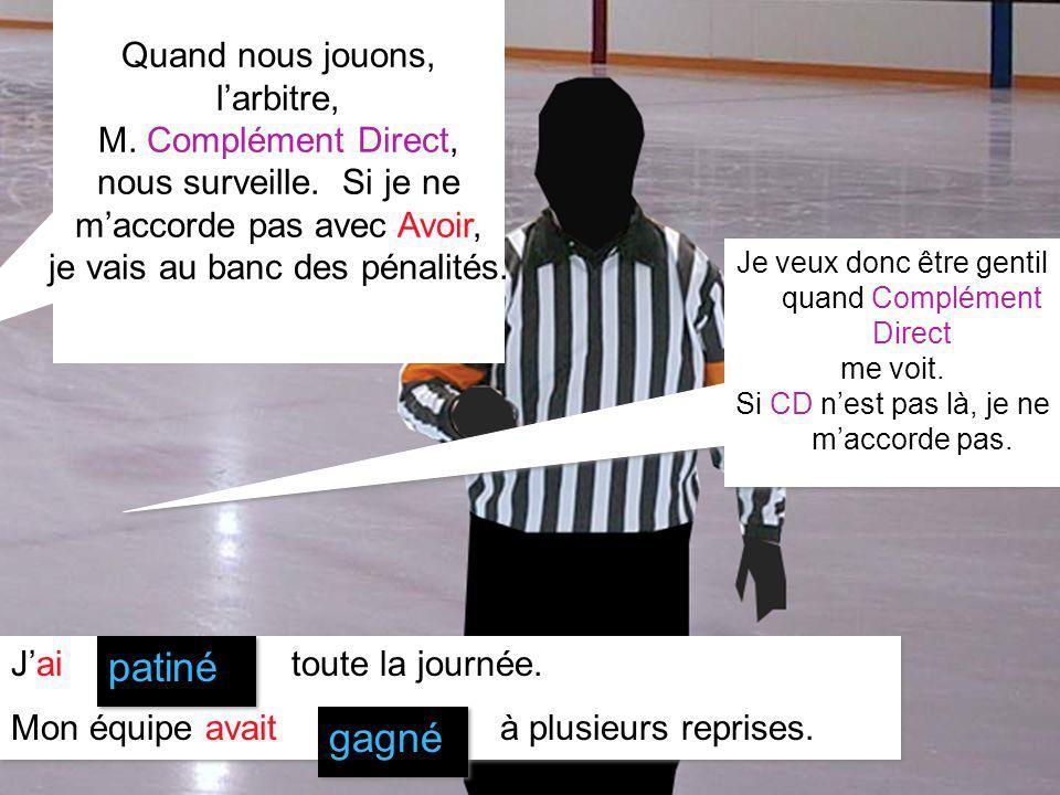 Marie-Eve Therrien 2007 Quand nous jouons, larbitre, M.