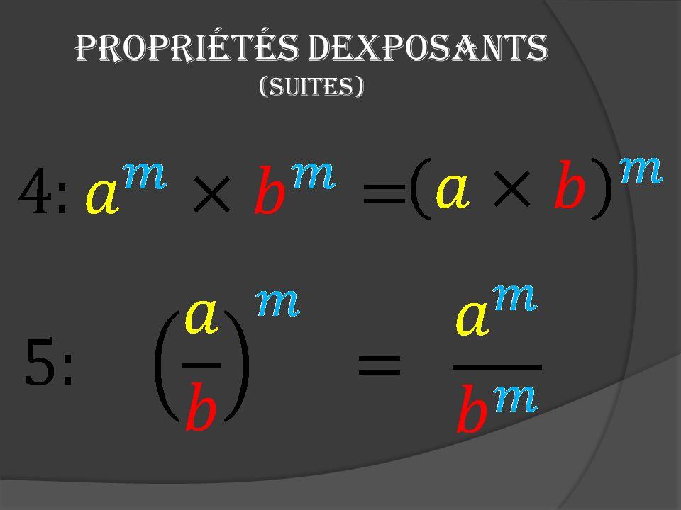 Exposant fractionnaire Quarrive-t-il lorsque un exposant fractionnaire est insérée dans une notation exponentielle ?
