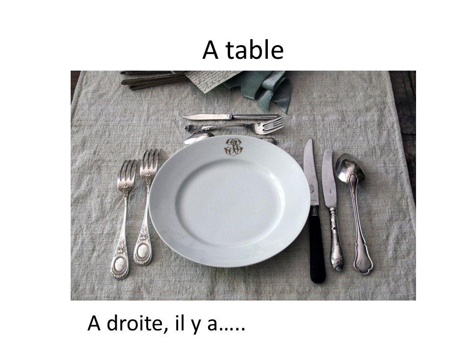 Un repas à la française Vocab review: A table Allez, Viens 2 Chapitre 3, Deuxième Etape Created by: Dimick