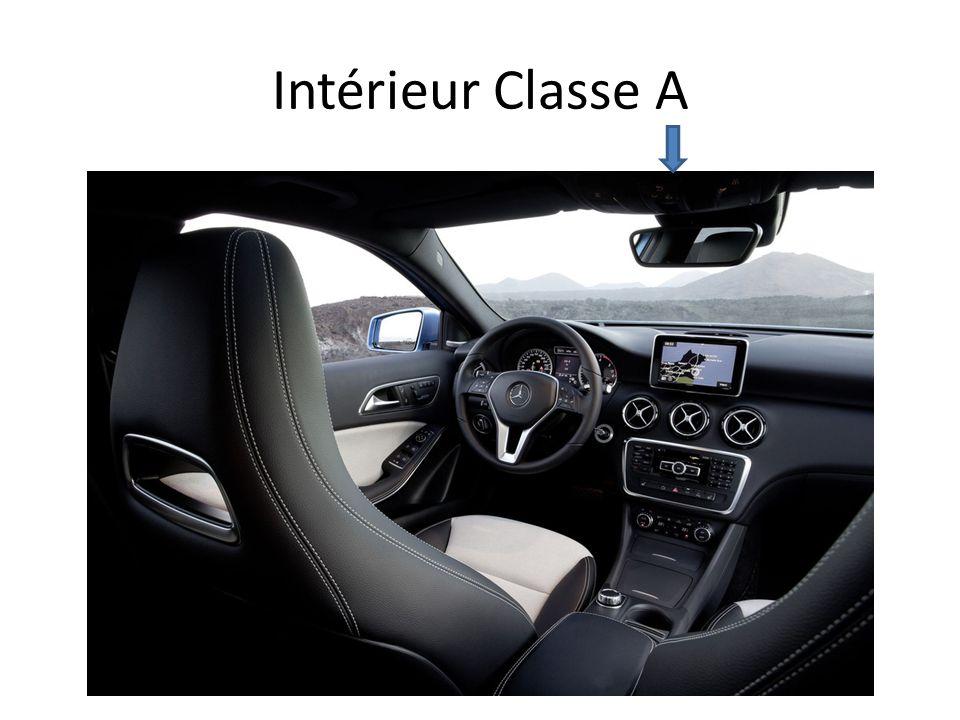 Intérieur Classe A