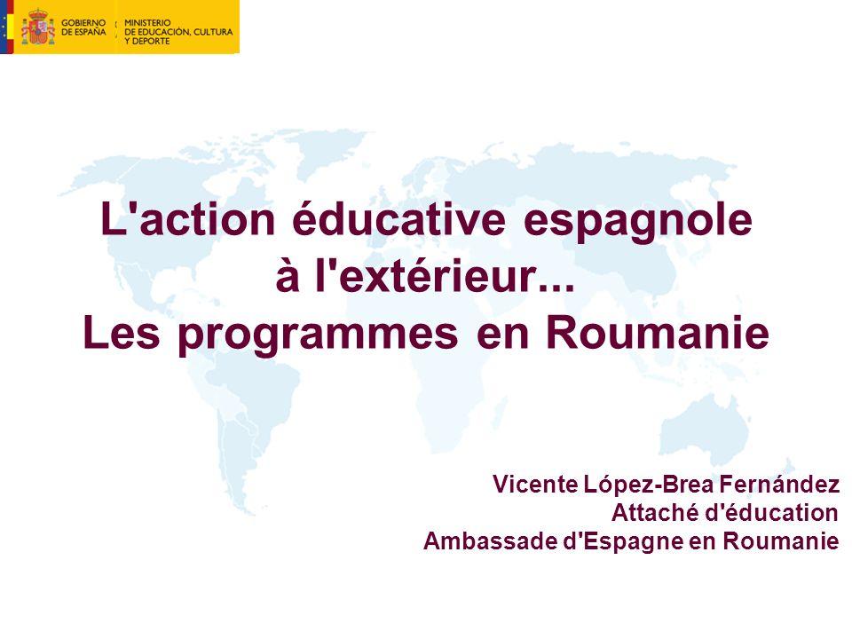 L action éducative espagnole à l extérieur...