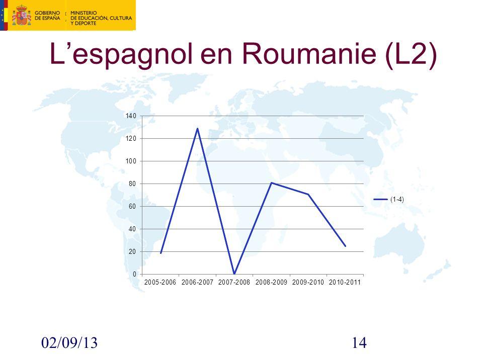 02/09/1314 Lespagnol en Roumanie (L2)