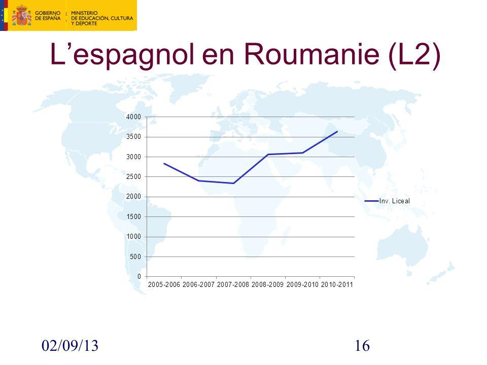 02/09/1316 Lespagnol en Roumanie (L2)