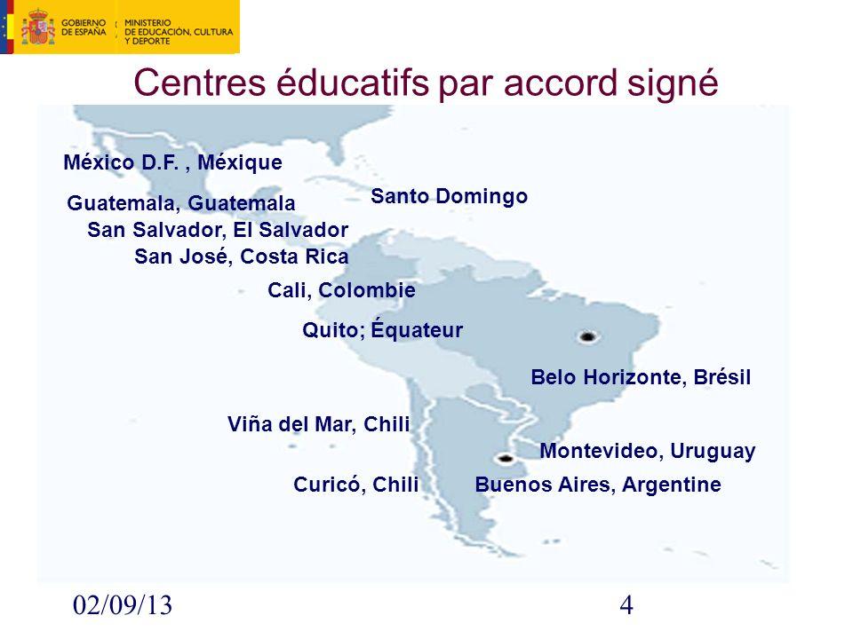 02/09/135 Regroupements de langue et culture espagnoles États -Unis France Royaume -Uni Suisse Allemagne Lux.