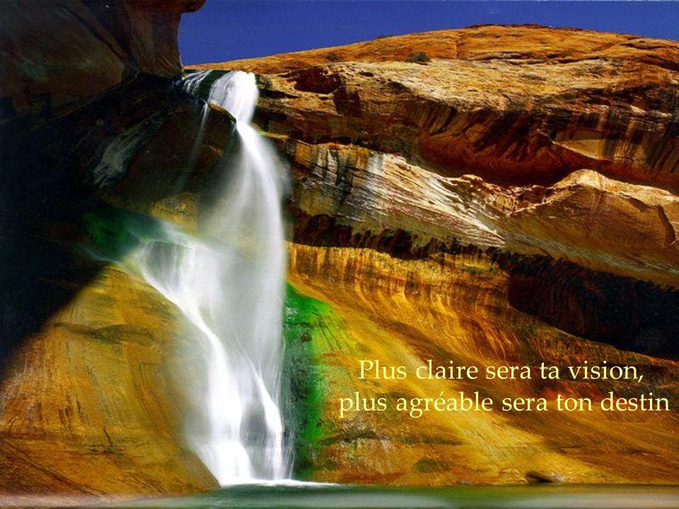 Plus claire sera ta vision, plus agréable sera ton destin