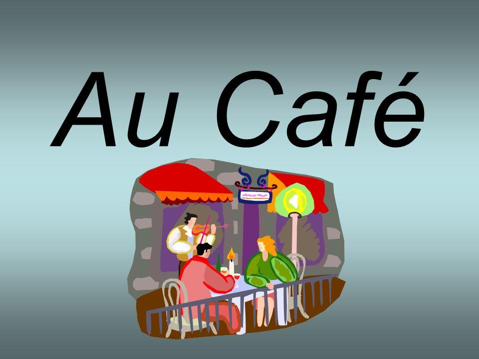 Il y a beaucoup de cafés en France.