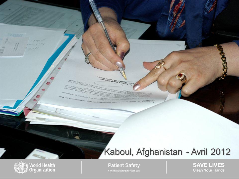 Kaboul, Afghanistan - Avril 2012