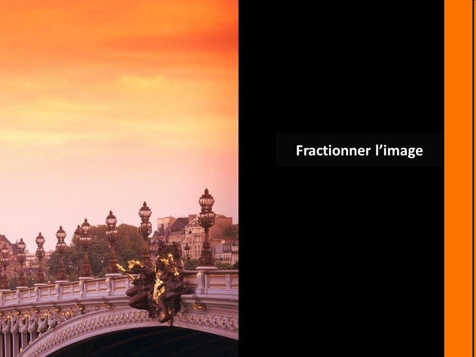 Fractionner limage