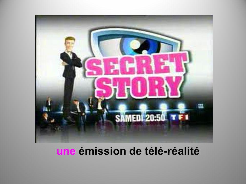 une émission de télé-réalité