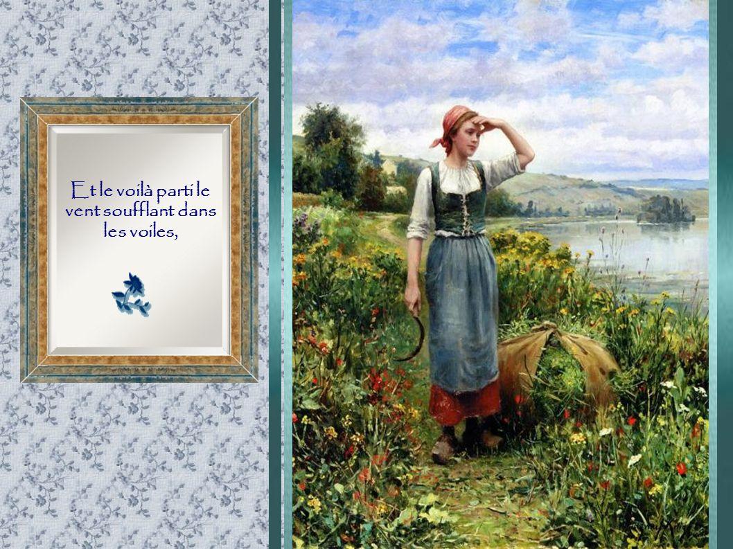 Peintures : Daniel Ridgway Knight Texte : Solange Bourdeau